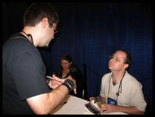 Avec John Scalzi (WorldCon)