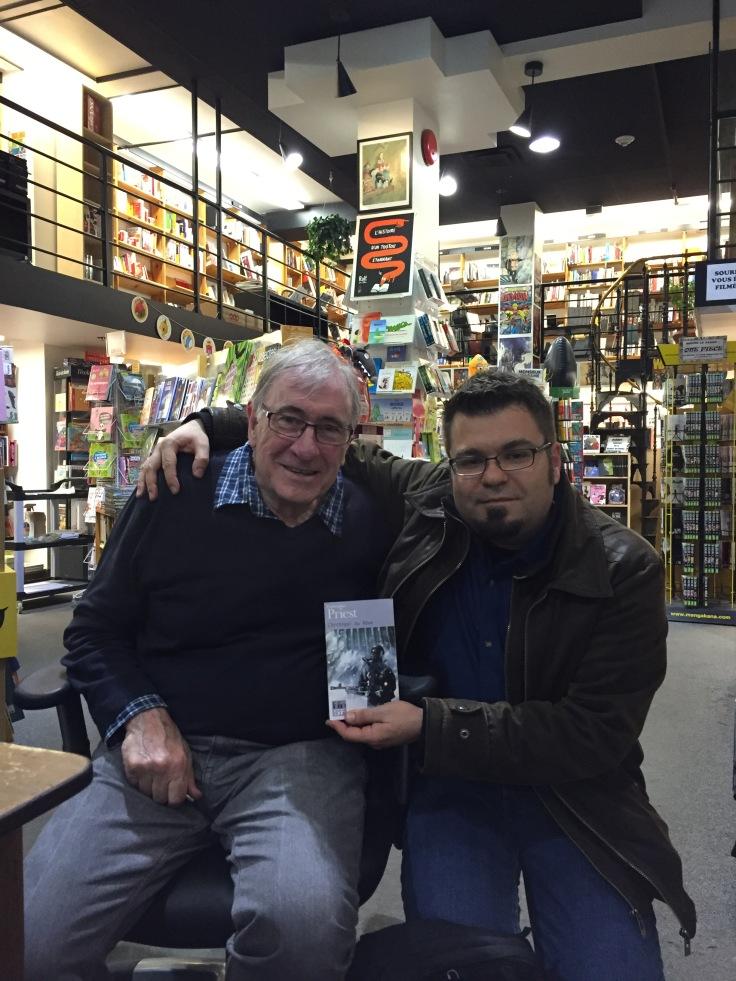 Avec Christopher Priest (Québec)