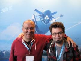 Avec Alain Damasio (Utopiales)