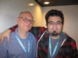 Avec Laurent Genefort (Utopiales)