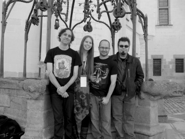 Avec Frédérick Durand, Ariane Gélinas et Jonathan Reynolds (Utopiales)
