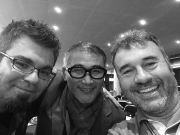 Avec Yi-Feng Kao et Richard Morgan (Utopiales)